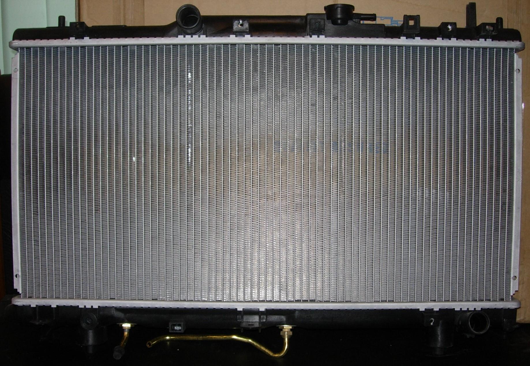 Замена радиатора на тойоте своими руками 170